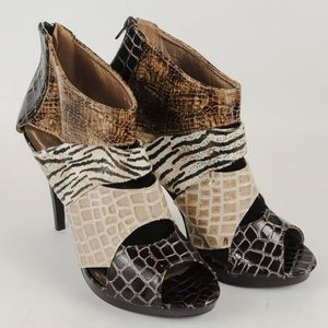 Quipd - Faux Snake Skin - Size 9